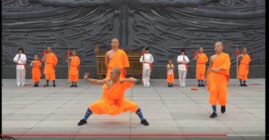 少林寺拳法の足使い