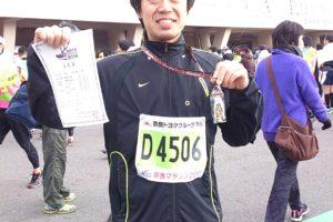 奈良マラソン後のセルフケア・・・そして完全復活!!